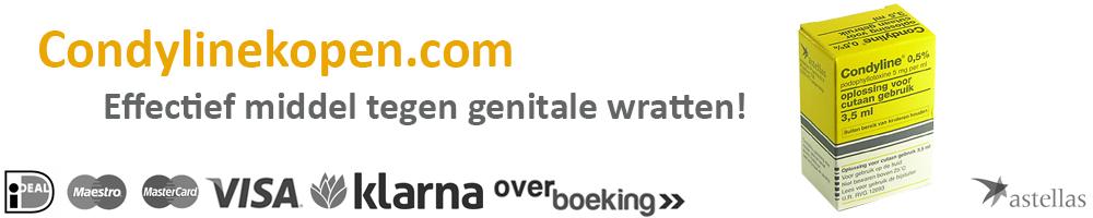 Condyline kopen zonder recept >> Tegen genitale wratten <<